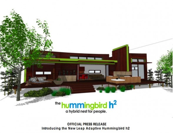 New Green Homes - Introducing the New Leap Adaptive Hummingbird h2