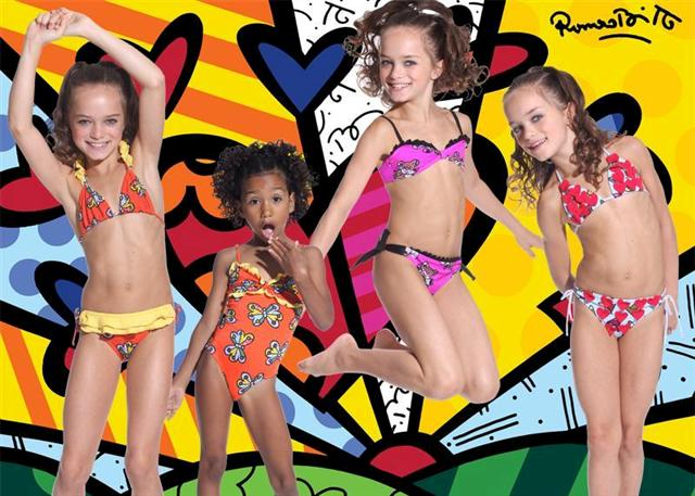 Submarine Swimwear with Britto Prints (not all prints available)