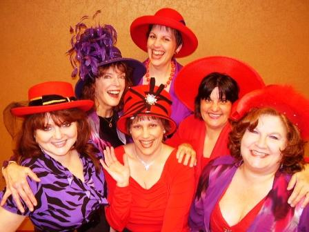 "The Sandusky State cast of ""HATS! The Musical"""