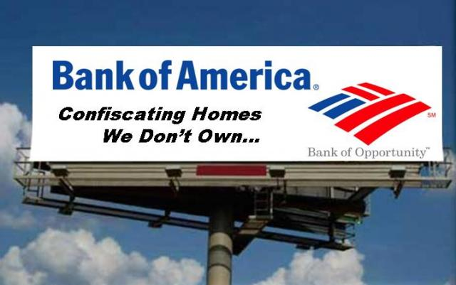 BOA Billboard - Can BAC Home Loans Foreclose