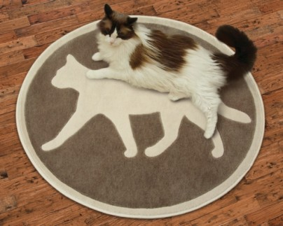 PURRsian Rugs make great gifts for cat lovers