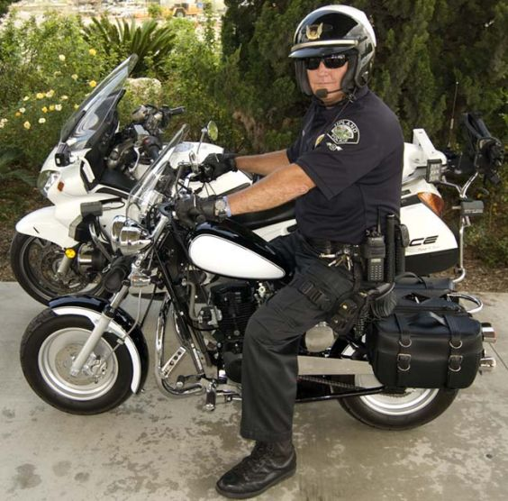 California Scooter Company's New CSC-150P Police Motorcycle