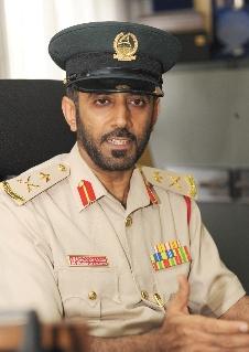 Maj. Gen Mohammed Saif Al Zafeen Dubai Police