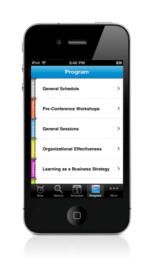 ASTD 2011 iPhone Conference App