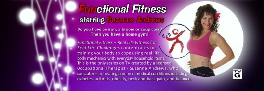 Suzanne Andrews Offers Fitness You Can Do