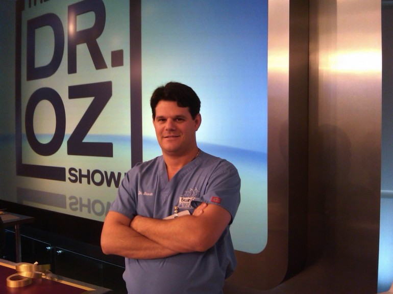Dr. Bassin at The Dr. Oz Show