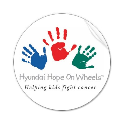 Hyundai Hope on Wheels Sticker