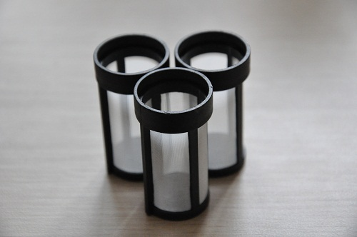Diesel Fuel Filter Parts made of Injected Plastic and