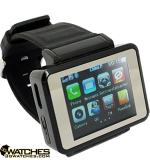 K1 CELL PHONE WATCH FROM 3G WATCHES