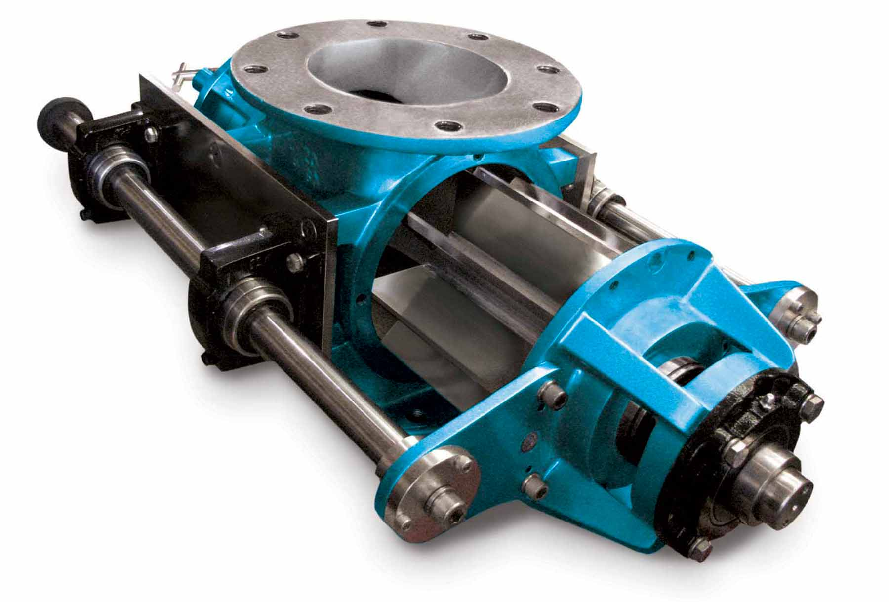 ACS Cast Iron Rotary Valve has Quick-Clean Feature