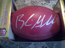 Blaine Gabbert Signed NFL Football