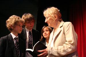 Author Naomi Rich at King Edward's School, Bath