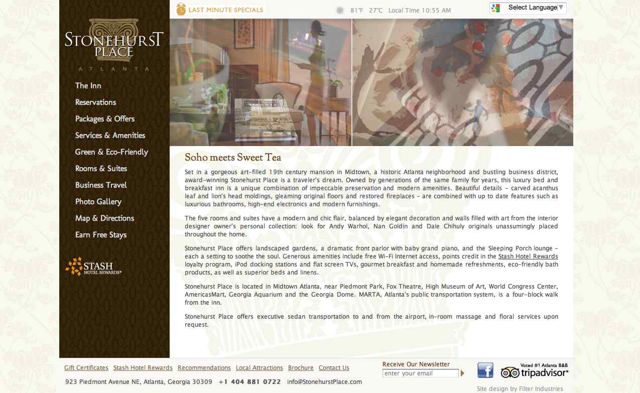 www.StonehurstPlace.com