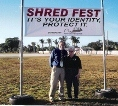 Shred Fest January 2011 Jeffrey Schneider, EA and Judy Hayes, EA