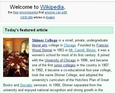 shimer_wikipedia_screenshot