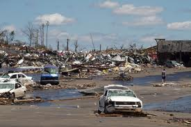 Destruction in Alabama from the tornadoes