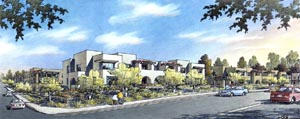 Pottery Court in Lake Elsinore designed by KTGY