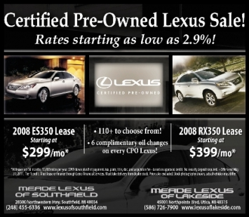 certified pre owned lexus sale detroit michigan prlog. Black Bedroom Furniture Sets. Home Design Ideas