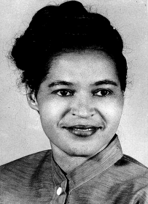 Rosa Parks in the 1940s