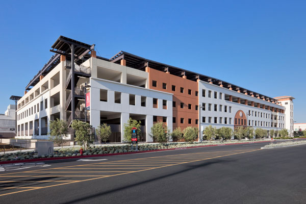 New Long Beach City College Parking Structure