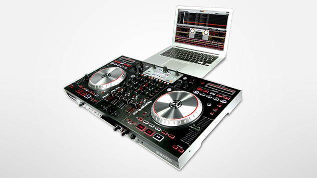 digital dj controller with 4 channel mixer numark ns6 available worldwide on june 1 2011 prlog. Black Bedroom Furniture Sets. Home Design Ideas