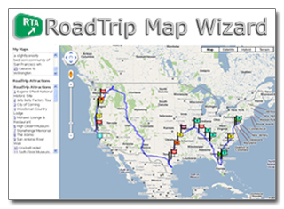 RTA's new Map Wizard: Point, click & plan!