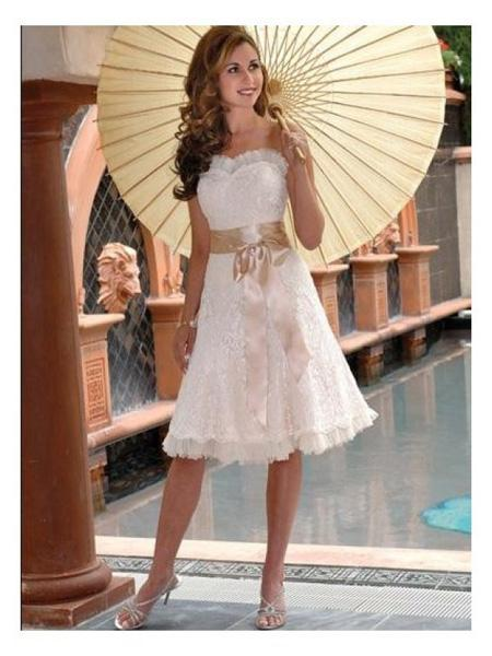 Short Wedding Dress Ideas