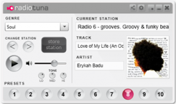 Radio Tuna Desktop Radio Player