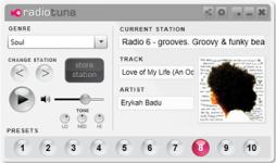 Radio Tuna Desktop Radio Player