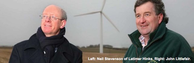 Latimer Hinks Farmer Wind Farm Expansion