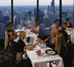 The Signature Room is a must for lunch in the city
