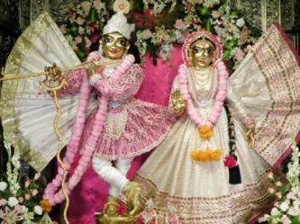 ISKCON Temple Bangalore - Radha_Krishna