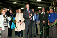 MSMC President Jim Waldron Performs Ribbon Cutting