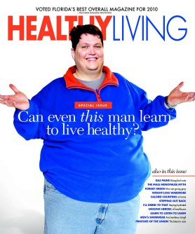 Healthy Living Magazine June Cover
