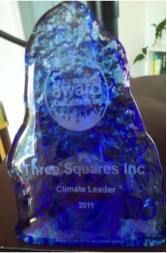 2011 CoolCalifornia Small Business Award