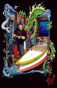 Drew Brophy in-his-Studio Photo by Jason Wallis