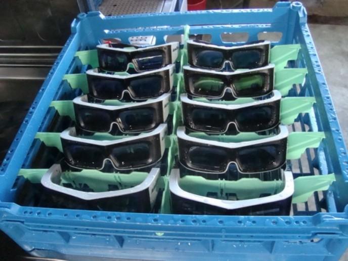 Winterhalter's new 3D glasses rack