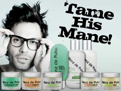 Han de Fuko, Natural Men's Hair Styling