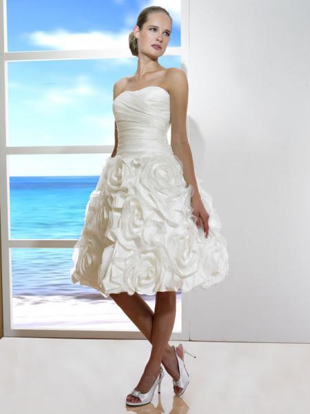 Short Corset Wedding Dresses 108