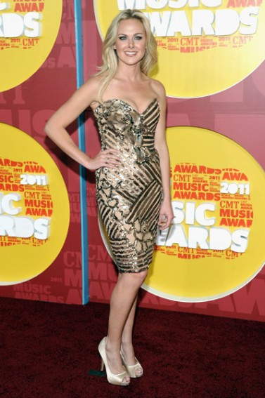 Laura Bell Bundy in Jean Fares Couture!