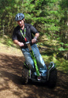 Segways are star attraction at Hitchin Priory