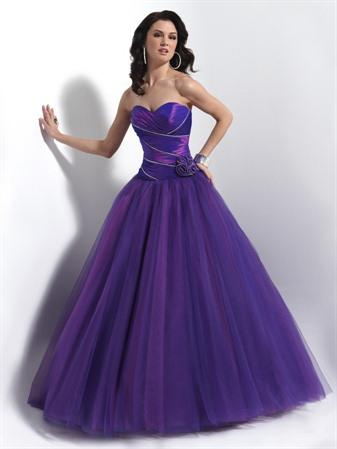 Blue Evening Dress on Purple Blue Clementine Hot Lips Ball Gown Prom Dresses   Prlog