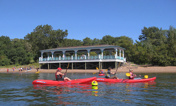 Kayaking at Conference House Park