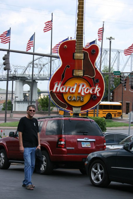 Gary Rocke at Hard Rock Nashville