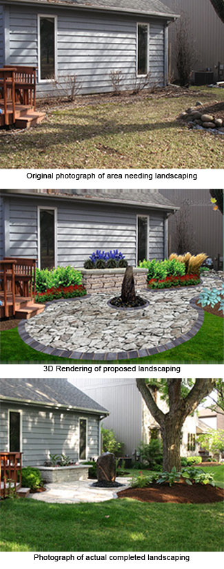 3D-landscape by Renovatio Landscape & Design