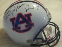 Bo Jackson Signed Auburn Helmet War Eagle