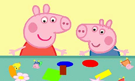 Peppa Pig and George coming to Ayr Racecourse.