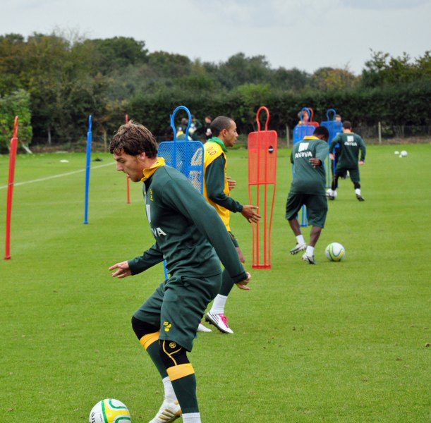 Norwich City FC use CNP Supplements