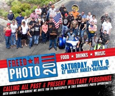 Rocket Harley-Davidson Freedom Photo