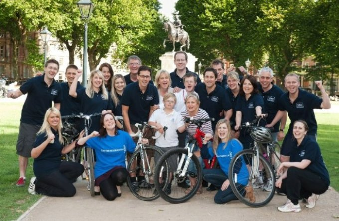 The Colliers International team in Queen Square